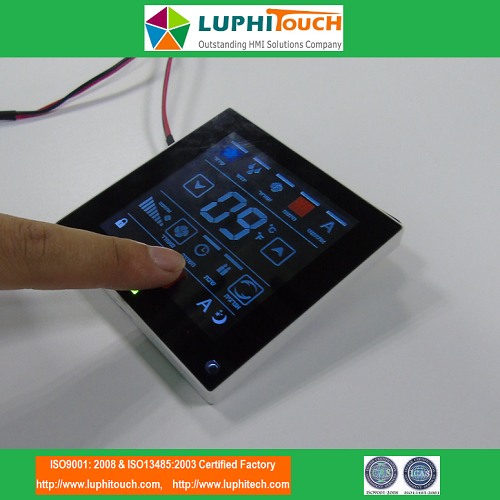 Air-conditioning Conductive Capacitive Membrane Keypad