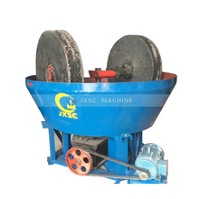 High Quality 3 Roller Rock Gold Process Plant Wet Pan Mill for  Sale