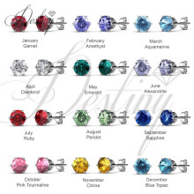 Destiny Jewellery Crystals From Swarovski Macaron Earrings