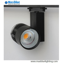 Éclairage commercial gradable Éclairage de rail CREE COB LED