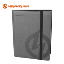 9 pockets PU leather album protector card binder