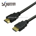 SIPU mejor precio al por mayor de alta velocidad 1 m macho a macho de audio video 1.4v hdmi a hdmi cable