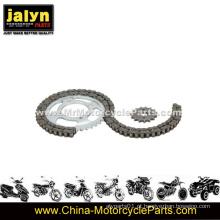 Conjunto de engrenagens de motocicleta e adaptadores de corrente
