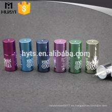Botella colorida del esmalte de uñas del gel del efecto ULTRAVIOLETA 10ml