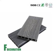 Wood Grain Timber Deck WPC Plastic Wood Floor