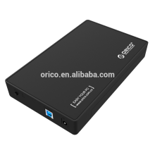 ORICO hot sell 3.5 Inch USB 3.0 to SATA External Storage Case Hard Disk Drive Hdd Enclosure capacity 4TB
