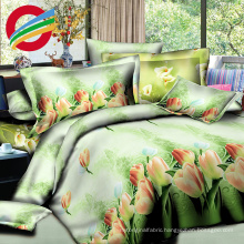 home textile printed bed sheet cotton fabric for in roll set