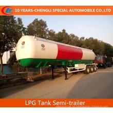56cbml LPG Semi Reboque Semi-Trailer Semi-reboque Semi-Trailer 6 Rodas LPG