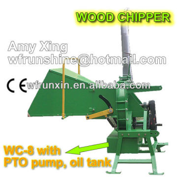 RUNSHINE WC-8 mini wood chipper
