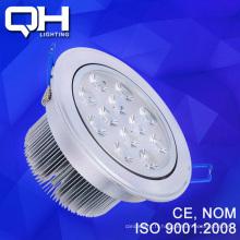 Logement de longue durée de vie blanc / chaud LED plafond Spot ampoule 12W luminaire