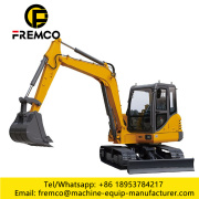 Engineering Construction Machinery Medium Excavators