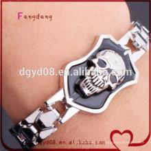 moda 316l aço inoxidável mens pulseira de jóias por atacado