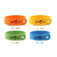 Factory OEM Natural Citronella Mosquito Repellent Wrist Band