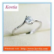TOP SALE anneaux de fiançailles de diamant de conception traditionnelle