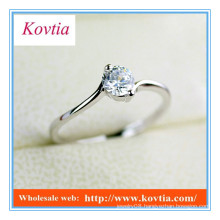 TOP SALE traditional design diamond bypass engagement rings