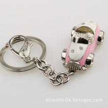 Korean Type Metal Car Key Chains for Girls