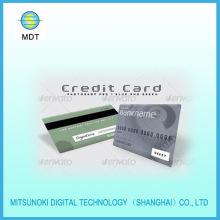 plastic magnetic stripe card