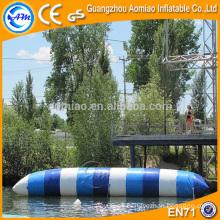 Bolso inflable multicolor del salto para el esquí, calor profesional del sellamiento de la almohadilla del agua / precios de la gota del agua