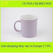 Kundenspezifische keramische Kaffeetasse ohne Druck