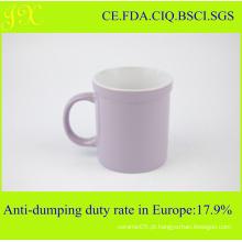 Caneca de café cerâmica feita sob encomenda sem impressão