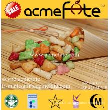 Thai Reis Cracker Beliebte Snack Mix Reis Cracker