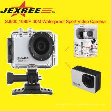 JEXREE SJ200 impermeável câmera de vídeo hd 1080p capacete esporte câmera digital