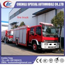 Caminhão da luta contra o incêndio da espuma de Isuzu 4 * 2 para a venda