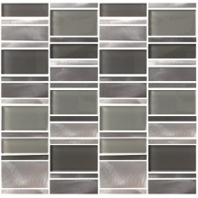 Mixcolor Glossy Crystal Glass Building Mosaic Tiles