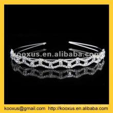Crystal tiara and crown