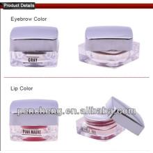 Solution permanente Cosmétique Tatouage Encre permanente de maquillage sur 22 couleurs - 10g / pc pâte