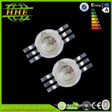 Precio de fábrica 3 en un 3w RGB LED de alta potencia Diodo 6 pines 3 chip