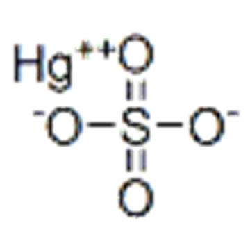 MERCURY(II) SULFATE CAS 7783-35-9