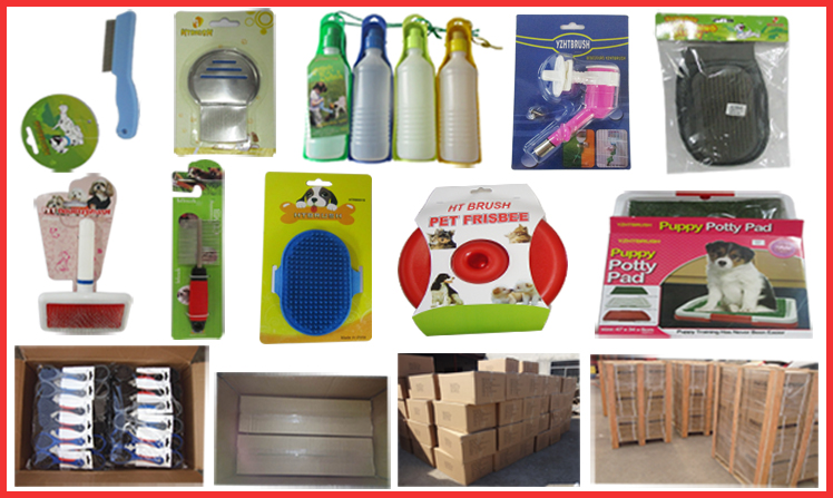 packages of the deshedding doggy cleaning