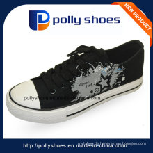 2016 weiße beiläufige Segeltuch-Schuhe preiswerter Großverkauf
