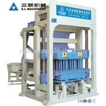 QT4-25 Máquina de ladrilho oco Máquina de fabricação de blocos para pequenas empresas