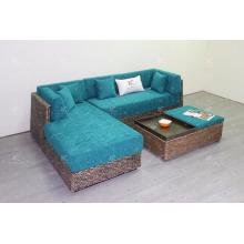 2017 Estilo retro, conjunto de sofá de jacinto de água, conjunto de vida interior
