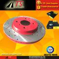 Revestimento vermelho anti-ferrugem rotor de freio resistente à corrosão