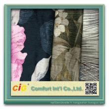 Tissu de canapé / tissu en polyester