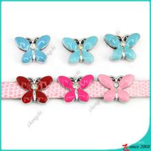 Emaille 8mm Schmetterling Folie Charms Großhandel (SC15040956)