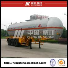 Caminhão de nitrogênio líquido, semi-reboque tanque de gás liquefeito (HZZ9400GYQ)