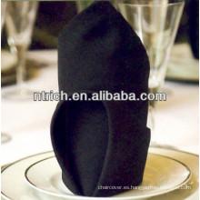 servilleta de cena barata visa del poliester de 50x50cm