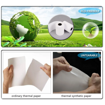 Mattes PP-Synthetikpapier für den Offsetdruck 120um