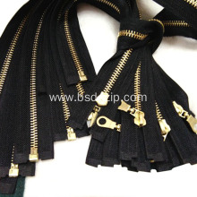 Brass No. 3 4 Zipper for Bag