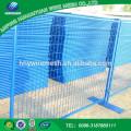China-Hersteller fertigte moderne Art Australien galvanisierten vorübergehenden Zaun besonders an