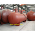 Horizontal 5 CBM Mounded LPG Bullet Tanques