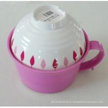 Tigela de Ramen melamina com tigela de sopa / Melamina Houseware / Louça (QQ15203S)