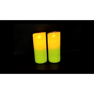 Custom Yellow Candle Festival Regalos