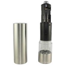alta qualidade de aço inoxidável ferramenta de cozinha elétrica moedor de pimenta garrafa