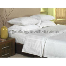 100% cotton fabric and luxury duck feather pillow