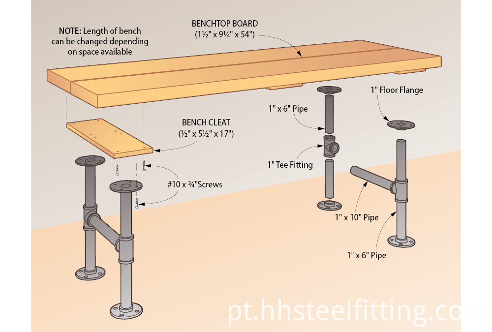 diy pipe furniture